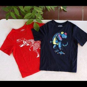 OshKosh Bundle (2) Little Boys T-shirts Size 7